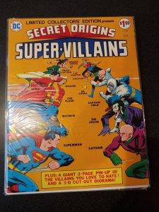 SECRET ORIGINS SUPER VILLIANS