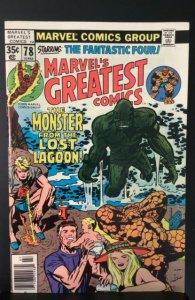 Marvel's Greatest Comics #78 (1978)