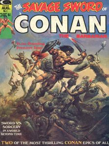 Savage Sword of Conan #1 FN; Marvel | save on shipping - details inside