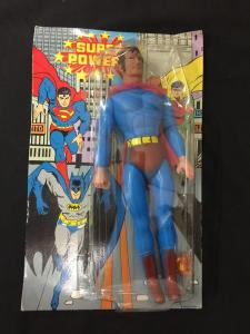 SUPER POWERS SUPERMAN MADE IN CHINA-MINT-RARE!