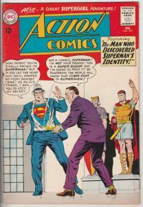 Action Comics #297 (Feb-63) NM- High-Grade Superman, Supergirl