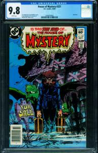 House of Mystery #321 CGC 9.8 Newsstand last issue of series 2038910003