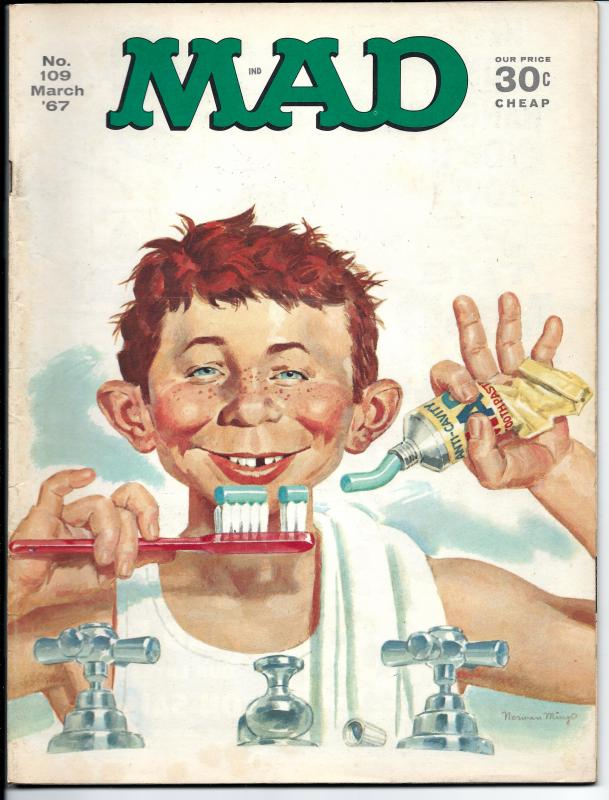 Mad No. 109, , March, 1967 (FN+)