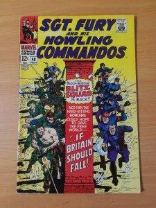 Sgt. Fury #48 ~ FINE - VERY FINE VF ~ (1967, Marvel Comics)