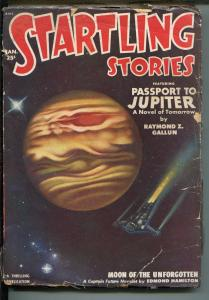 Startling Stories Pulp January 1951-Thrilling -CAPTAIN FUTURE-good