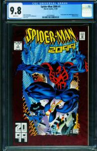 SPIDER-MAN 2099 #1 First issue CGC 9.8 2020540002