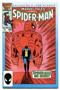 Marvel Tales #190 Amazing Spider-Man #50 reprint-comic book