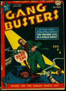 Gang Busters #2 1948-DC Comics- Public Enemy- Golden Age VG