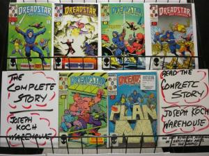 DREADSTAR & CO 1-6 JIM STARLINS EPIC!!