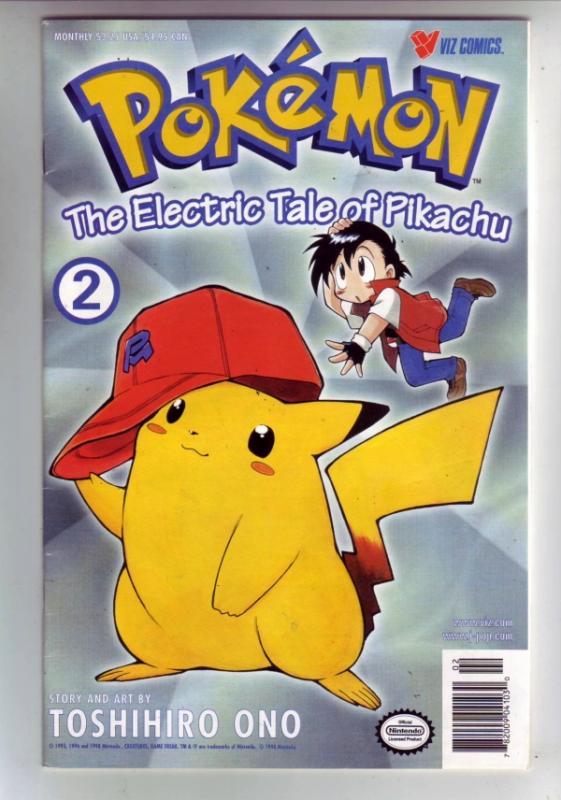 Pokemon #2 (Dec-98) NM- High-Grade Picachu, Pokemon