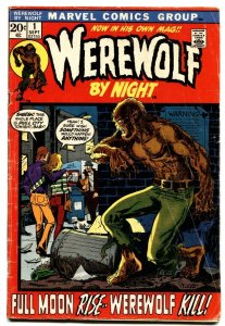 Werewolf By Night #1 1st issue-comic book Marvel-Mike Ploog