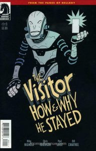 Visitor, The: How and Why He Stayed #1 FN; Dark Horse | save on shipping - detai