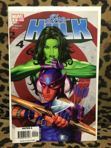 SHE-HULK - MARVEL - 8 ISSUES within #2-21 - 2006-09 - VG