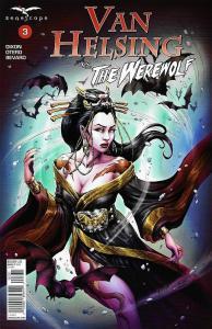 Van Helsing vs The Werewolf #3 Cvr C (Zenescope, 2017) NM