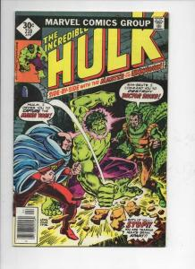 HULK #210, FN, Incredible, Bruce Banner, Dr Druid, Maha Yogi, 1968 1977, Marvel