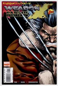 WEAPON X DAYS of FUTURE NOW #1 2 3 4 5, NM, Wolverine, X-Men, more in store