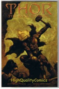 THOR - ROCK WARRIOR #1, NM-, Limited, Mike Hoffman, 2001, more Variant in store