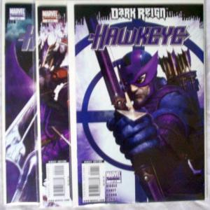 Dark Reign Hawkeye Set #1to3 (Jun-09) NM+ Super-High-Grade Hawkeye, Bullseye
