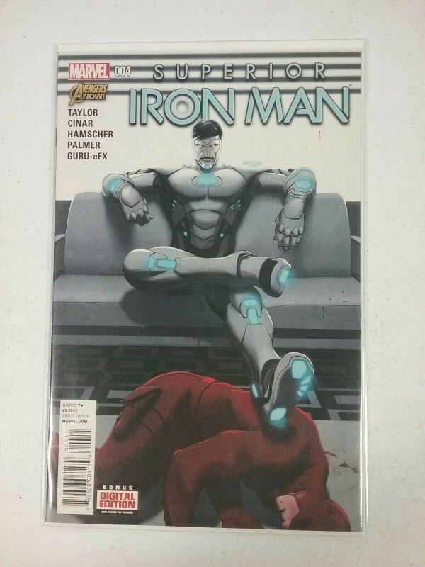 Superior Iron Man #4 Marvel Comic NW31