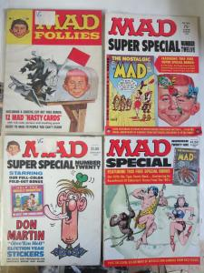 Mad Magazine Specials Lot of 6Diff from 1968-1976 Follies Worst Annuals Hilarity