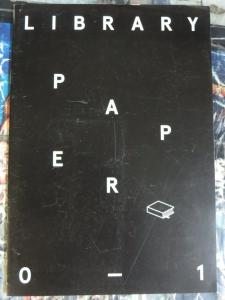 Library Paper 2012 Lorenz Klingebiel Copy-Shop Art Catalog w Interviews Limited