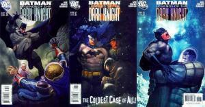 BATMAN LEGENDS OF THE DARK KNIGHT 201-203 Cold Case