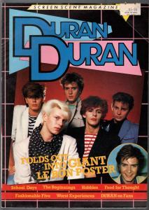 Screen Scene magazine 1980's-Duran Duran-poster magazine-VG/FN