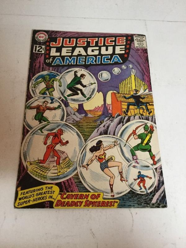 Justice League Of America 16 Fn+ Fine+ 6.5