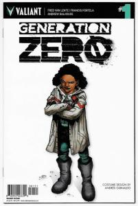 Generation Zero #1 RI 1:10 Variant (IDW, 2016) VF/NM