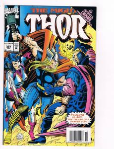 The Mighty Thor # 467 Marvel Comic Books Awesome Issue Modern Age WOW!!!!!!! S27