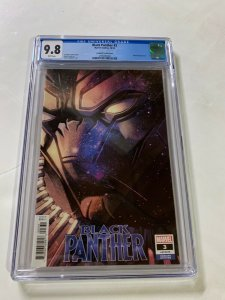 Black Panther 3 Cgc 9.8 Campbell Variant Marvel 2018