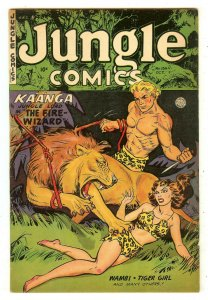 Jungle Comics 154   Fiction House