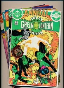 DC COMICS SET of 5-TALES OF GREEN LANTERN CORPS #1-3 & ANNUAL 1-2 VF(PF605)