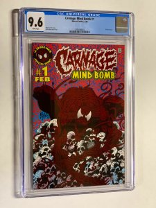Carnage mind bomb 1 cgc 9.6 wp spider-man