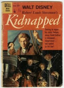 KIDNAPPED (1960 GOLD KEY) F.C.1101 FAIR PHOTOCOVER COMICS BOOK