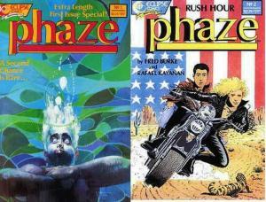 PHAZE (1988 EC) 1-2  Sienkiewicz, Gulacy  COMPLETE!