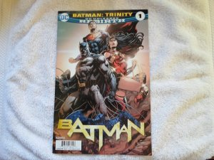 DC COMICS BATMAN: TRINITY DC UNV. REBIRTH # 1