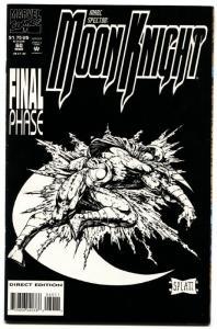 Marc Spector Moon Knight #60 last Issue 1994 Platt Art htf