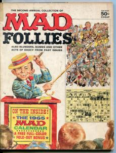 Second Annual Collection Of Mad Follies Magazine-1964-Wood-Drucker-Rickard-VG