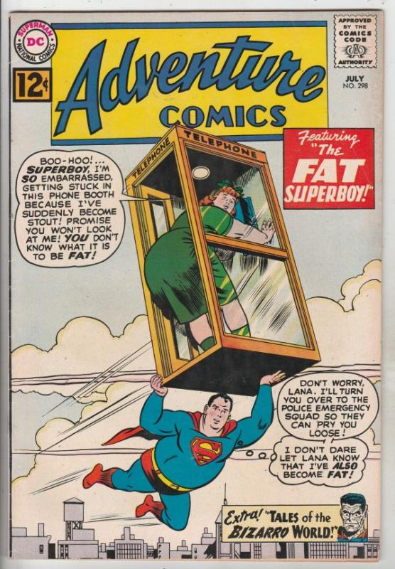Adventure Comics #298 (Jul-62) VF+ High-Grade Superboy