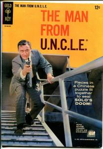 Man From U.N.C.L.E. #2 1965-Gold Key-1st issue-Robert Vaughn-FN/VF