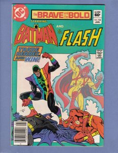 Brave and the Bold #194 NM- Batman Flash DC 1983