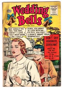 WEDDING BELLS #19 1956-QUALITY COMICS-Matt Baker-LAST ISSUE!