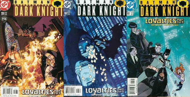 BATMAN LEGENDS OF THE DARK KNIGHT 159-161 Loyalties