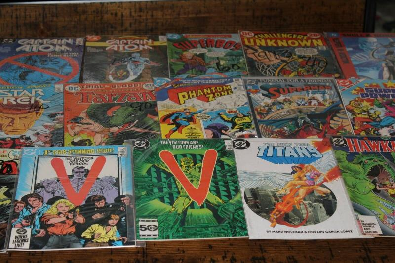 Medium Priority Mail Box Full of All Different DC Comics Bulk Mixed Condition.