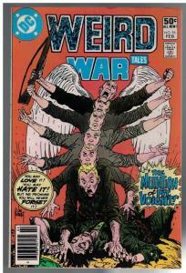WEIRD WAR TALES (1972) 96 VG-F  Feb. 1981