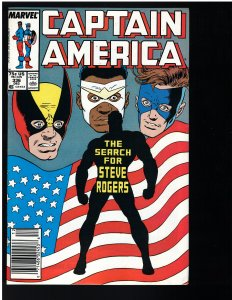 Captain America #336 (Marvel, 1987)