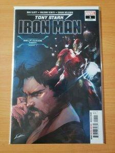 Tony Stark Iron Man #1 (601) ~ NEAR MINT NM ~ 2018 Marvel Comics
