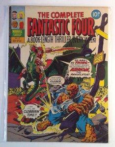 Complete Fantastic Four #27 (1978) Magazine Size Marvel UK 6.5 FN+ Comic Book