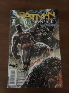 Batman Eternal 1 Nm Signed 4X Tynion Scott Snyder Fawkes Seeley At C2E2